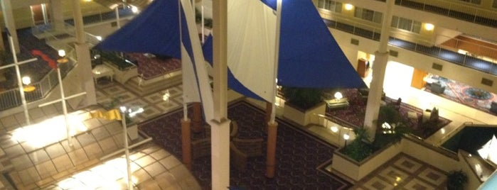 Newport Marriott is one of Locais curtidos por Mike.