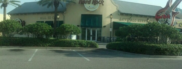 Hard Rock Cafe Destin is one of Hard Rock Cafes I've Visited.