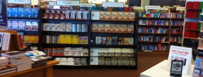 Chapters is one of All-time favorites in Canada.