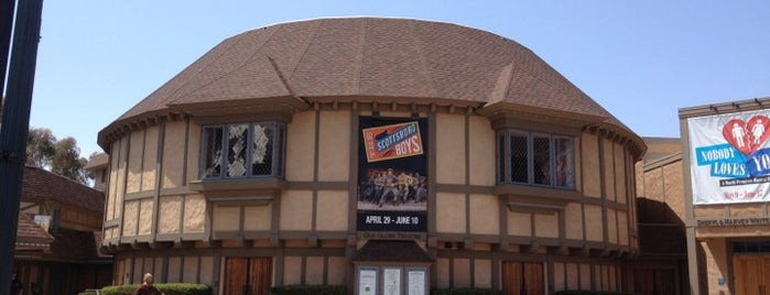 The Old Globe Theatre is one of San Diego.