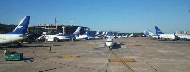 Aeroparque Jorge Newbery (AEP) is one of AIRPORT.