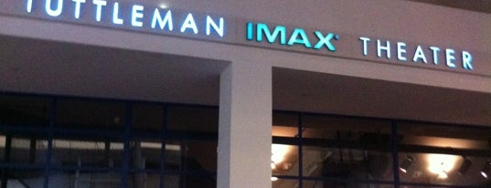 Tuttleman IMAX Theater is one of Tempat yang Disukai Daphne.