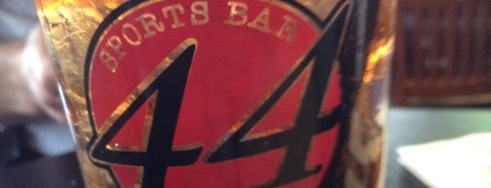 44 Sports Bar & Grill is one of DC Burgers.