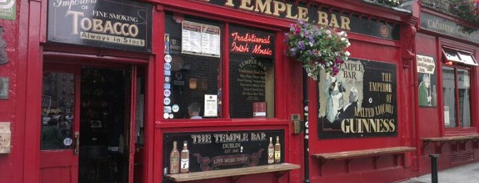 The Temple Bar is one of Dublin.