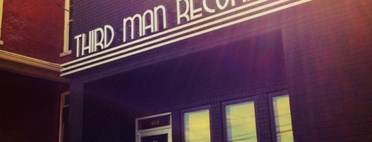 Third Man Records is one of Nashville.