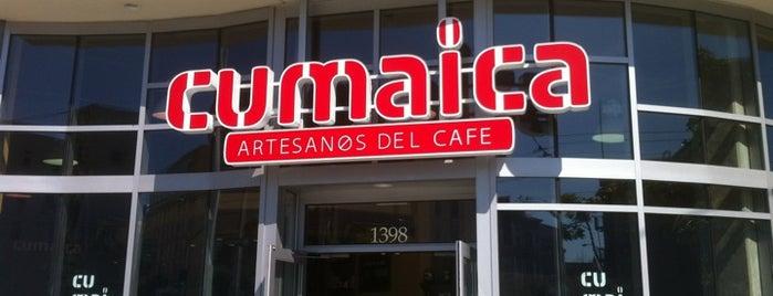 Cumaica Coffee is one of Orte, die Andrew gefallen.