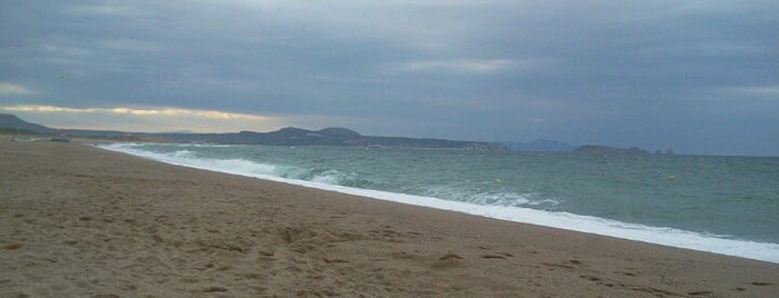 Platja del Racó is one of Playas de España: Cataluña.