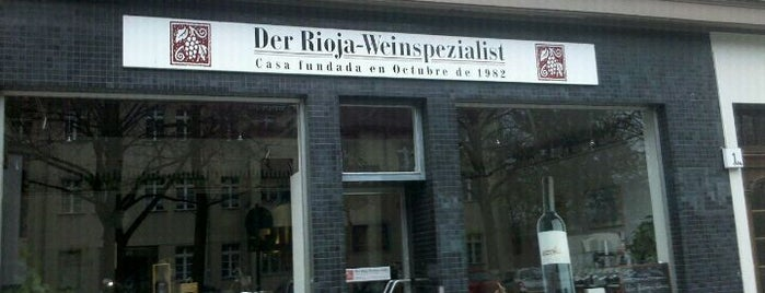 Rioja-Weinspezialist is one of to do list in Berlin.