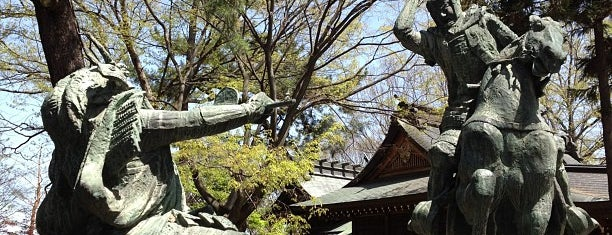 川中島古戦場史跡公園 is one of 昔 行った.
