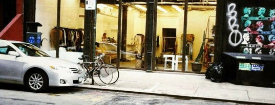 """Maryam Nassir Zadeh is one of Our """"Young Guns"""" Favorite Shops in NYC."""