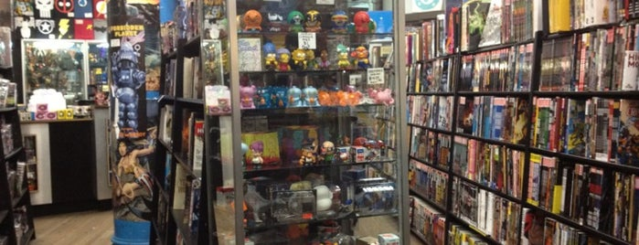 Forbidden Planet is one of Nerdy and Artsy Places that Rock!.