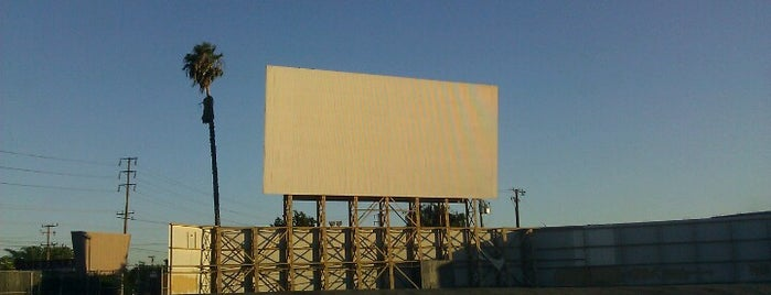 Vineland Drive-in Theater is one of LA.