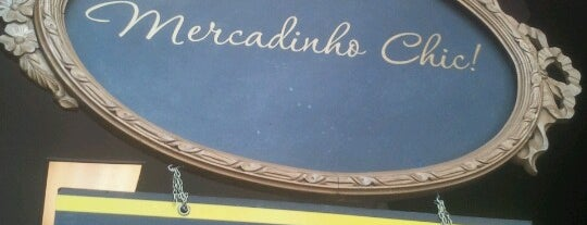 Mercadinho Chic is one of I love SP.