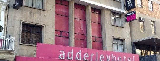 Adderley Hotel is one of Cape Town.