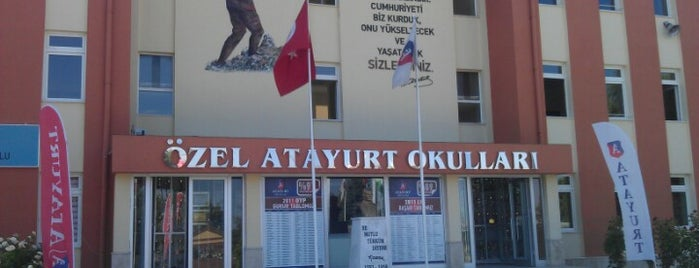 Özel Atayurt Okulları is one of Lieux qui ont plu à Ayşe Gizem.