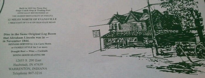 Log Inn is one of Indiana Bucket List.
