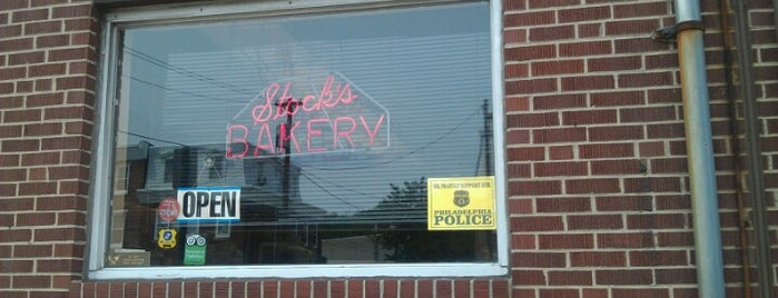 Stock's Bakery is one of Philly.