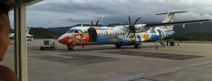 ท่าอากาศยานนานาชาติสมุย (USM) is one of AIRPORT.