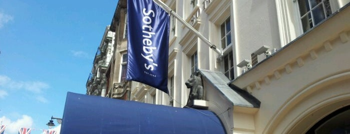 Sotheby's is one of london_2.