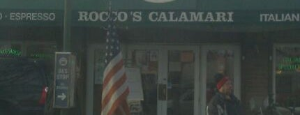 Rocco's Calamari is one of NYC must!!.