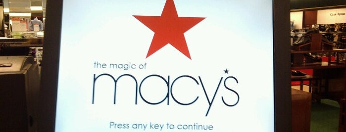 Macy's is one of West Manchester Mall.