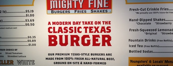 Mighty Fine Burgers is one of USA - Austin.