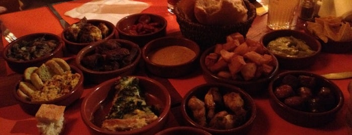 Tapas Locas is one of Een 'snelle hap' in Brussel.