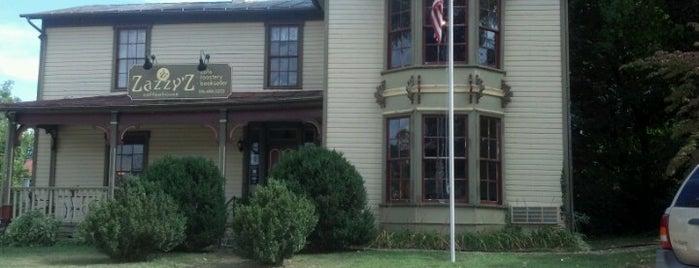 Zazzy'z Coffee House is one of Southwest VA.