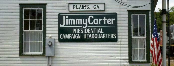 Jimmy Carter National Historic Site is one of National Park Service Sites.