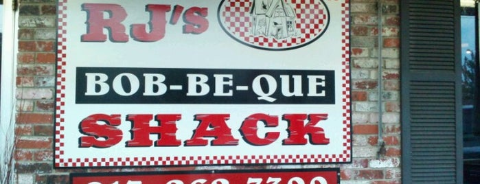 R.J.'s Bob-Be-Que Shack is one of BBQ Joints.