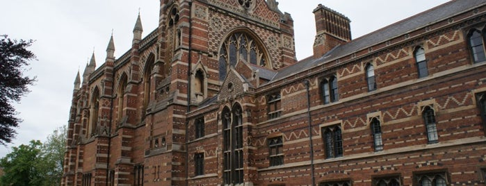 Keble College is one of Locais curtidos por Carl.