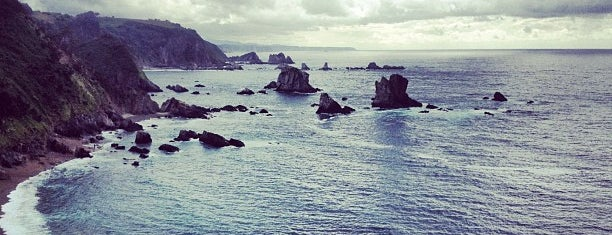 Playa del Silencio / Gavieiro is one of Hopefully, I'll visit these places one day....