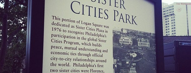 Sister Cities Park is one of VisitPhilly.