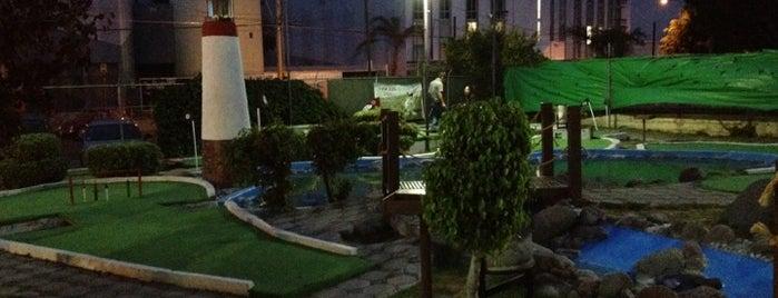 City Karts-Golf Puebla is one of Finde.