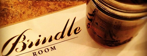 The Brindle Room is one of NYC Favourites.