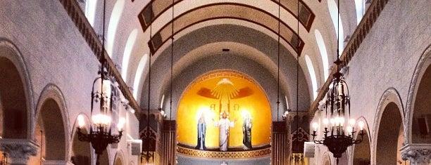 St. Monica Catholic Church is one of US TRAVELS LA.