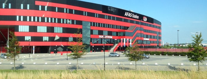 AFAS Stadion is one of Lugares favoritos de Ralf.