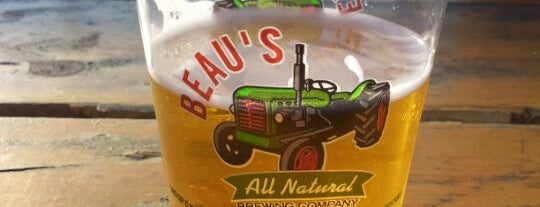 Beau's All Natural Brewery is one of Ontario Craft Brewers.