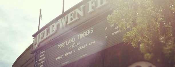 Providence Park is one of PDX.