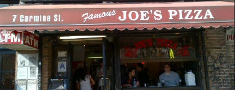 Joe's Pizza is one of NYC Bars.