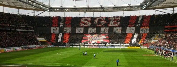 Deutsche Bank Park is one of Soccer Stadiums.