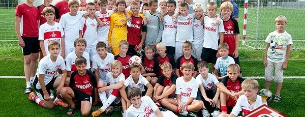 Академия «Спартак» по футболу им. Ф.Ф. Черенкова is one of Красно-белый <C>писок.