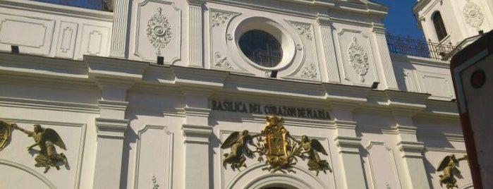 Parroquia Corazon De Maria is one of Monumentos Nacionales.