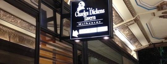 The Charles Dickens Tavern is one of Melbourne.