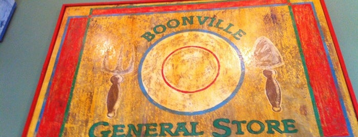 Boonville General Store is one of Tempat yang Disukai Robert.