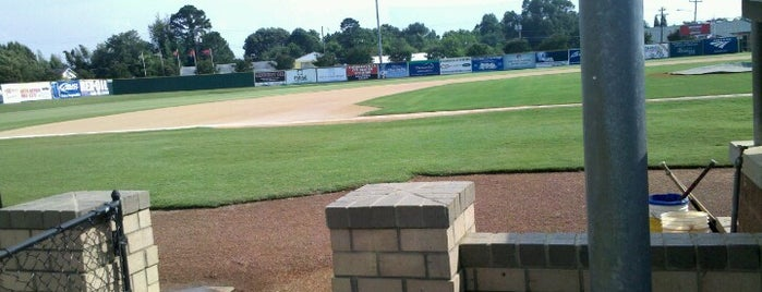 Finch Field is one of Baseball Stadiums To Visit.