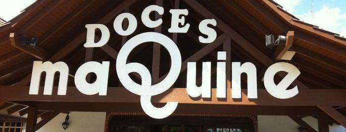 Doces Maquiné is one of สถานที่ที่ Jorej ถูกใจ.