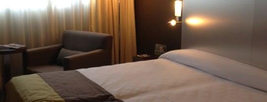 Hotel Sercotel JC1 Murcia is one of Alvaro'nun Beğendiği Mekanlar.