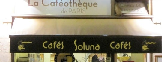 La Caféothèque de Paris is one of  Paris Eat .