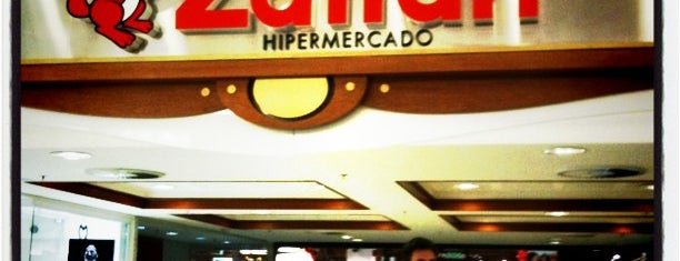 Záffari Hipermercado is one of em Sampa.